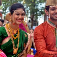 Mrunal Dusanis Actress Marriage Photos