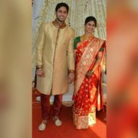 Mrunal Dusanis With Husband Neeraj More