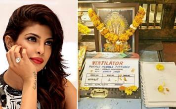 Shooting started for Producer Priyanka Chopra's first Marathi film - Ventilator