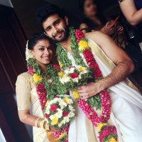 Siddharth Menon With Wife