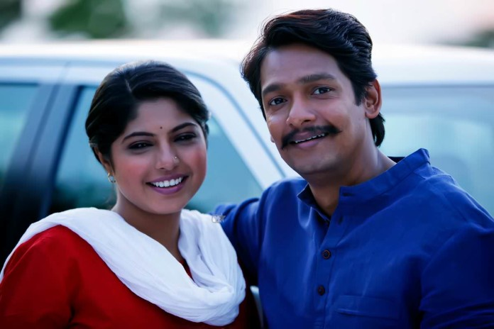Priyadarshan Jadhav and Prajakta Hanamghar - Dhingana Marathi Movie