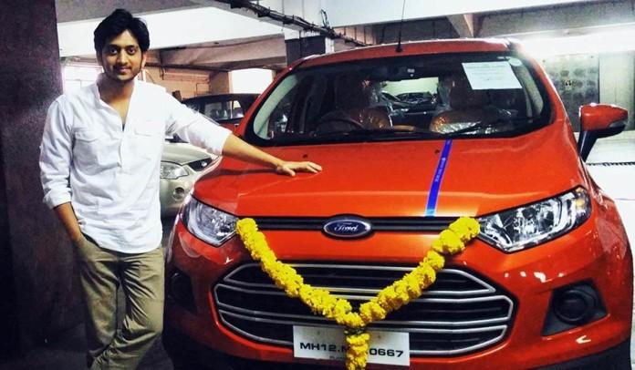 Marathi Actor Amey Wagh gets a new car!