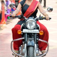 Rinku Rajguru Actress On Bullet - Sairat