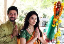 Swapnil Joshi and Anjana Sukhani celebrate Gudi Padwa
