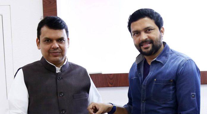 Ankush Chaudhari donates 4 lakhs for Jalyukt Shivar Abhiyaan