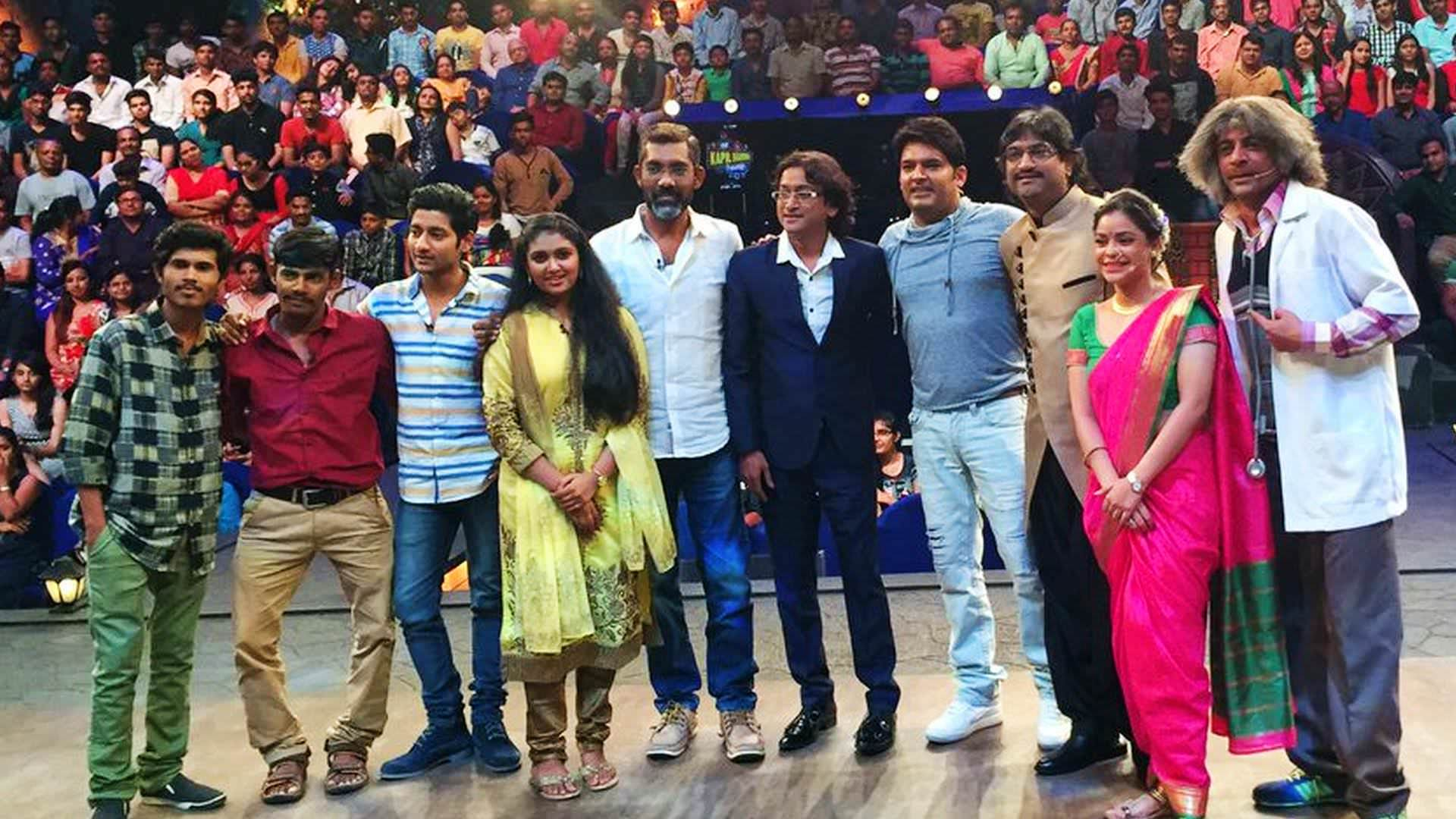 Sairat Team goes Zingat on Kapil Sharma Show