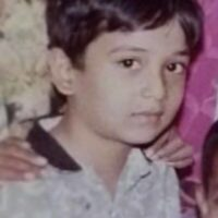 Abhijeet Khandkekar childhood photo