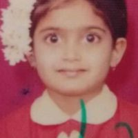Isha Keskar childhood photo