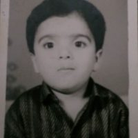 Nipun Avinash Dharmadhikari childhood photo