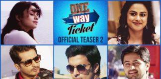 One Way Ticket Marathi Movie First Look Teaser Trailer