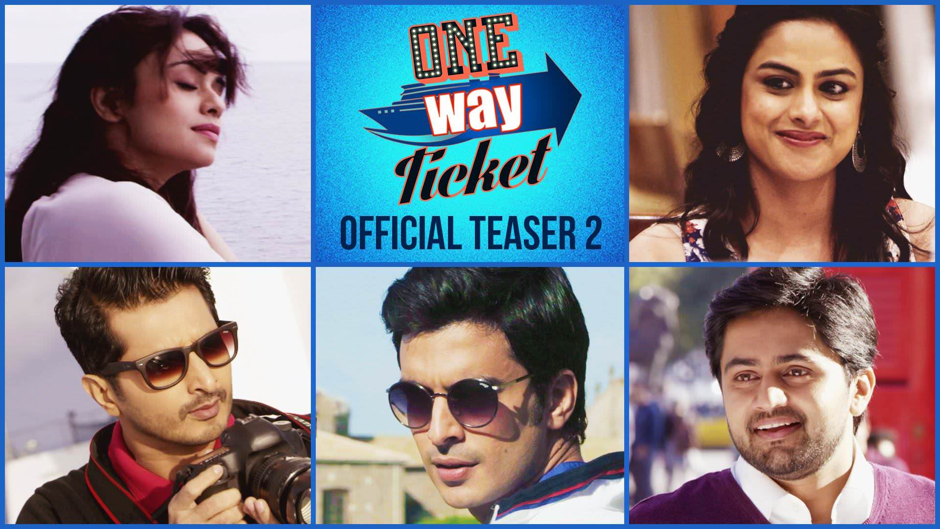 one way ticket upcoming marathi movie cast crew story trailer release date. Black Bedroom Furniture Sets. Home Design Ideas