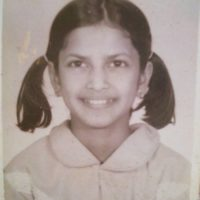 Priyanka Barve Singer childhood photo