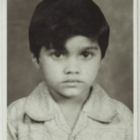 Ravi Jadhav childhood photo