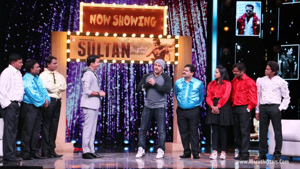 Salman Khan turns up at 'Chala Hawa Yeu Dya'!