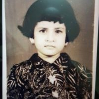 Savaniee Ravindrra childhood photo