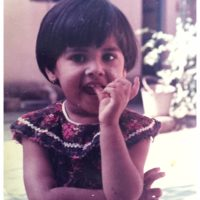 Sayali Pankaj Singer childhood photo