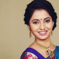 Sayali Sanjeev Beautiful Saree Photo