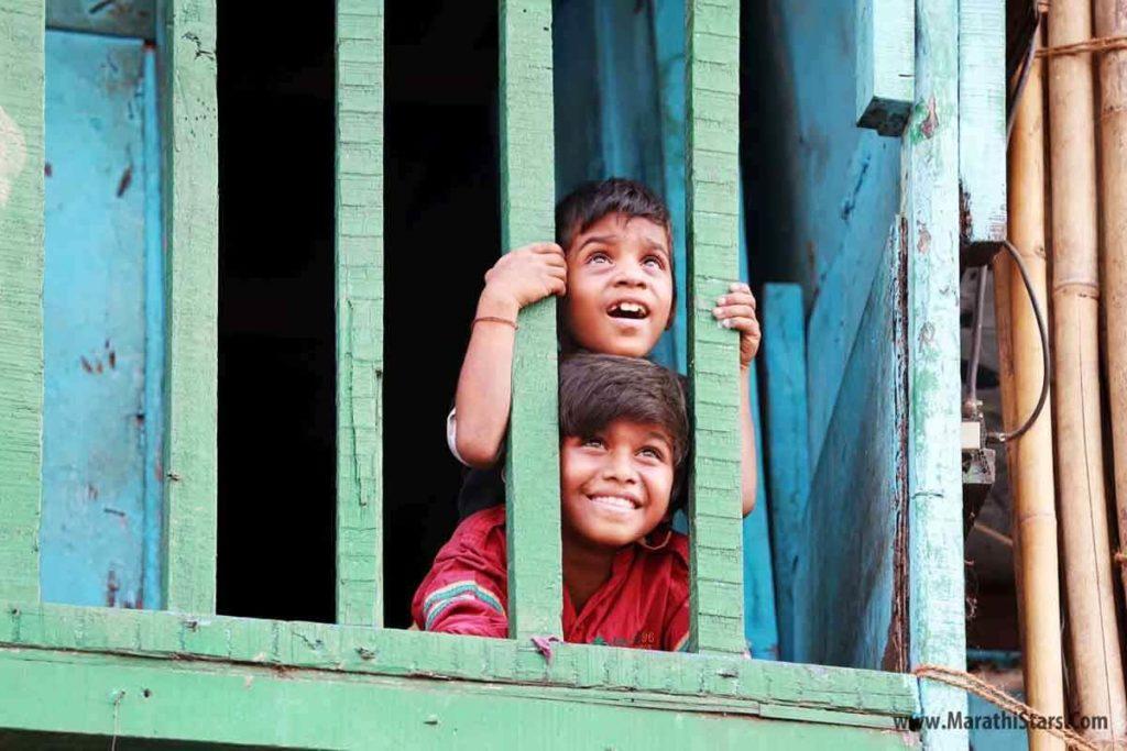 Shubham More & Vinayak Potdar Half Ticket Child Actors