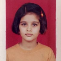 Vaidehi Parashurami childhood photo
