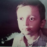 Viju Mane Childhood Photo