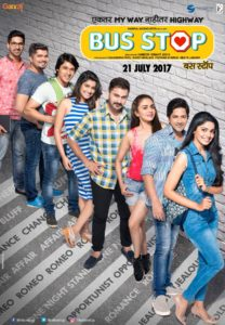 Bus Stop Marathi Movie Poster