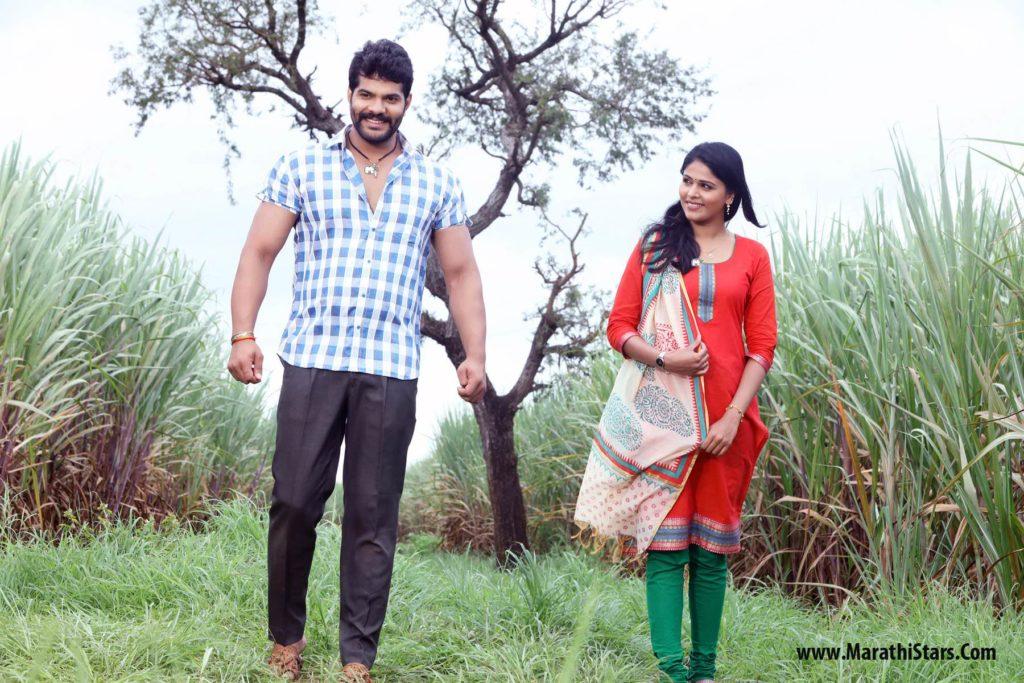Hardeek Joshi & Akshaya Deodhar Tujhyat Jiv Rangala Zee Marathi Serial Photo