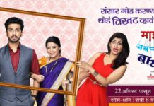 Mazya Navryachi Bayko Zee Marathi Serial Cast Photos Wiki