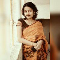 Shivani Rangole in Saree Photos