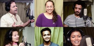 Song Recording of Nagesh Darak directed Vishwas