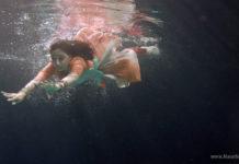 Underwater shooting for Goth Star Pravah Serial