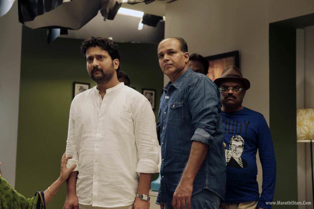 Ashutosh Gowarikar & Jitendra Joshi Ventilator Marathi Movie