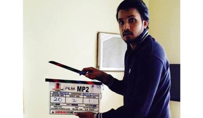Chirag Patil turns a clapper boy for Vazandar!