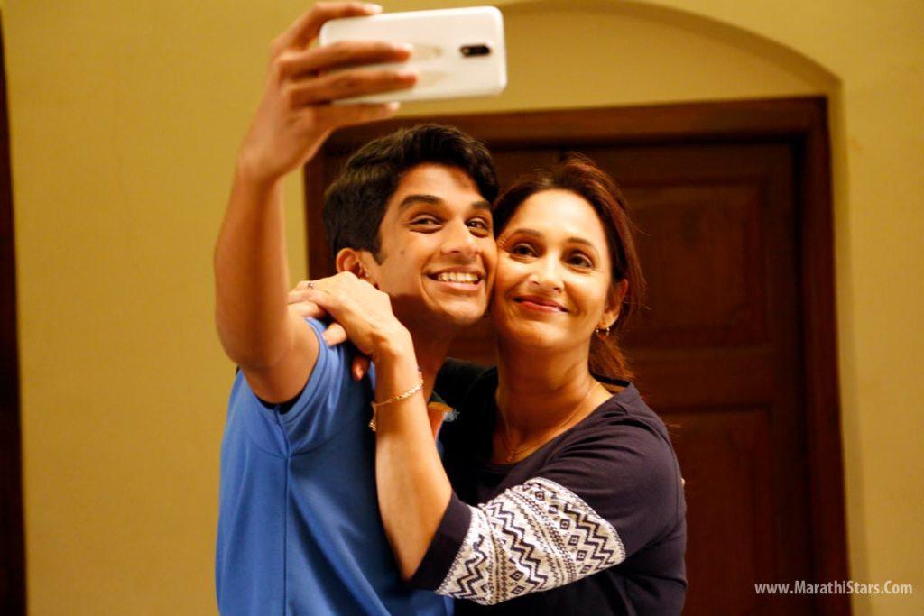 Ashwini Bhave & Rohit Phalke Manjha Still Photos