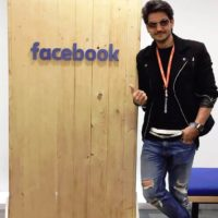 Bhushan Patil at Facebook Headquarters