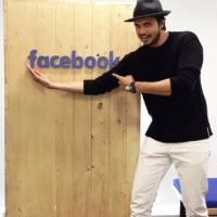 Chirag Patil at Facebook Office