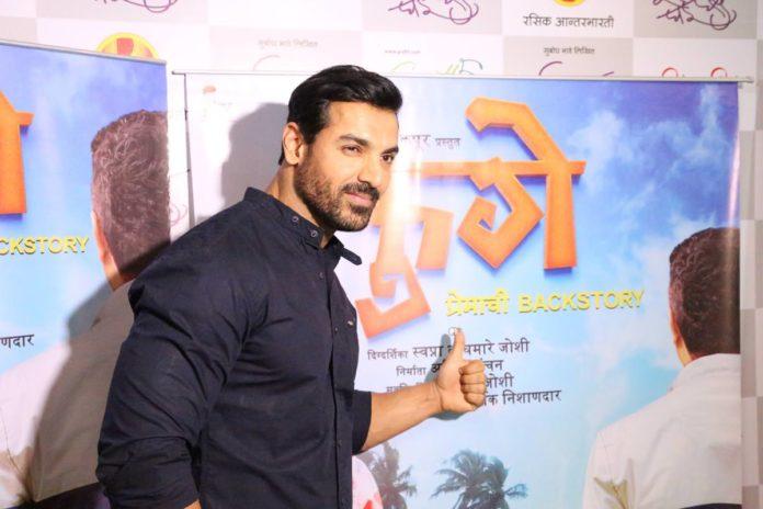 John Abraham in Love with Marathi Cinema