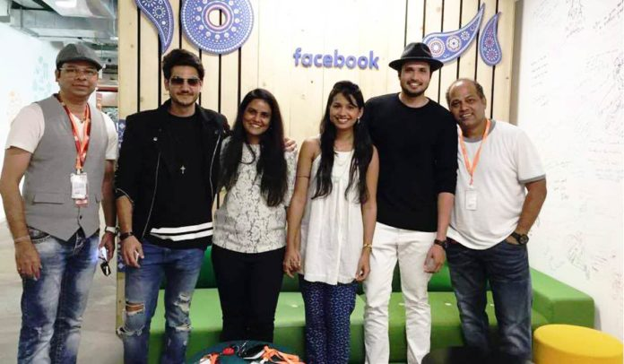 Marathi Stars at Facebook Headquarters