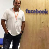 Sanjay Jadhav at Facebook Headquarters