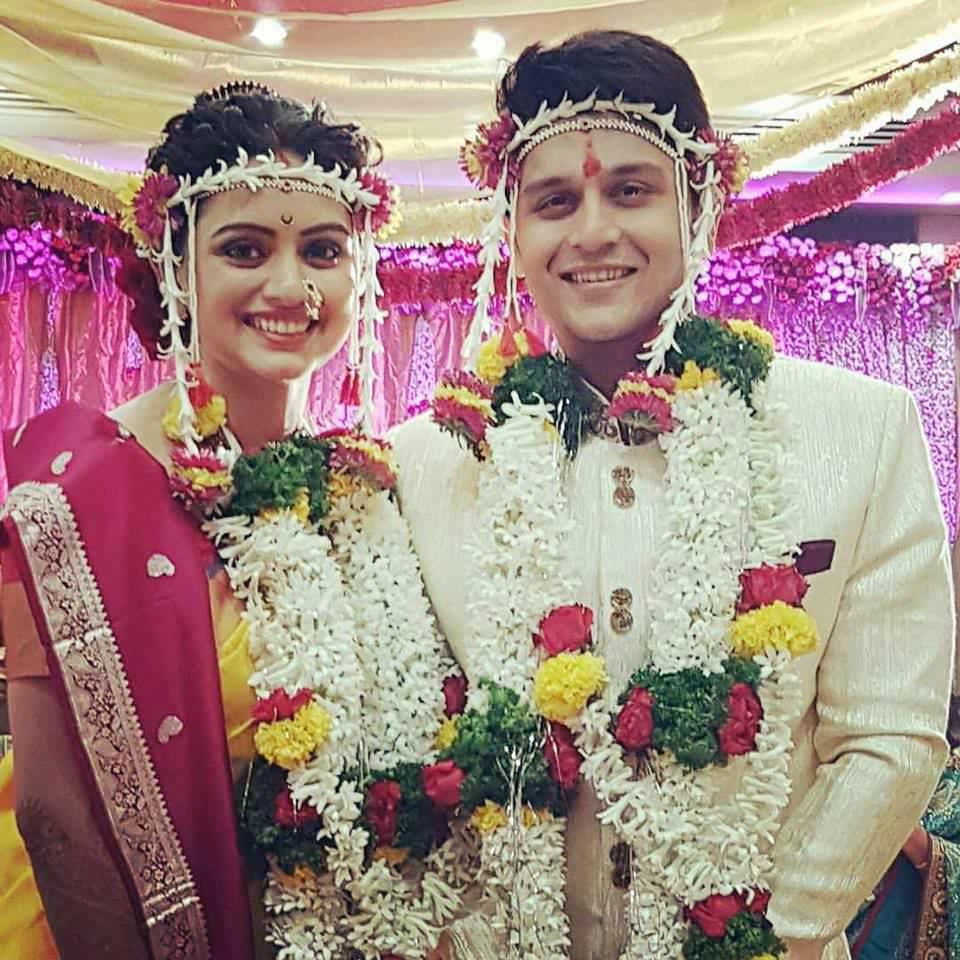 Shruti Marathe Amp Gaurav Ghatnekar Marriage Wedding Photos