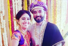 Mrunmayee Deshpande Marathi Actress marriage Photos