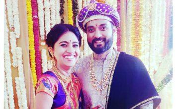 Mrunmayee Deshpande Marathi Actress marriage Photos
