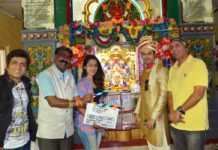 Dehant Muhurt at Lad Ganpati Temple