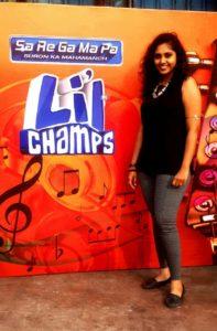 Singer Madhura Kumbhar