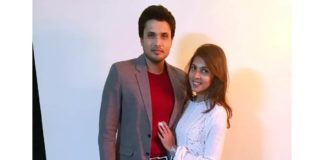 Chirag Patil with wife Sana