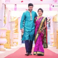 Mayuri Wagh & Piyush Ranade Marathi Actors marriage Photos