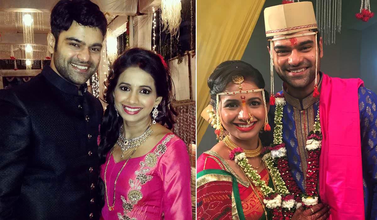 piyush ranade amp mayuri wagh marriage photos asmita zee