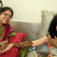 Manava Naik Wedding Mehandi Photos