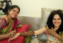 Manava Naik Wedding Mehandi Photos