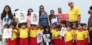 Ganu Team visits Penguins alongwith preschool children