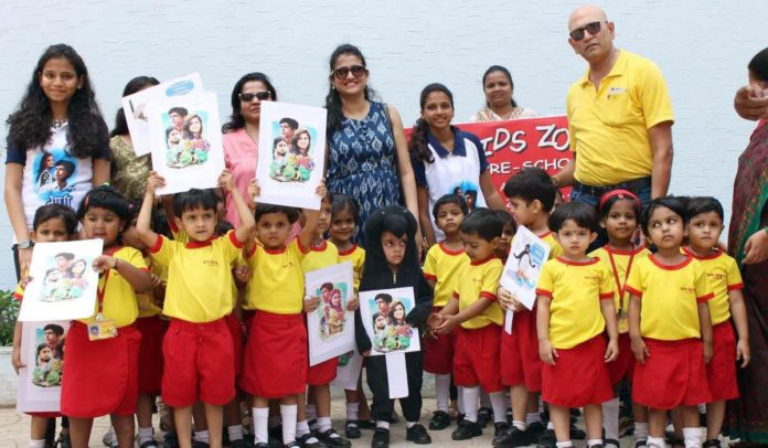 Ganu Team visits Penguins alongwith preschool children